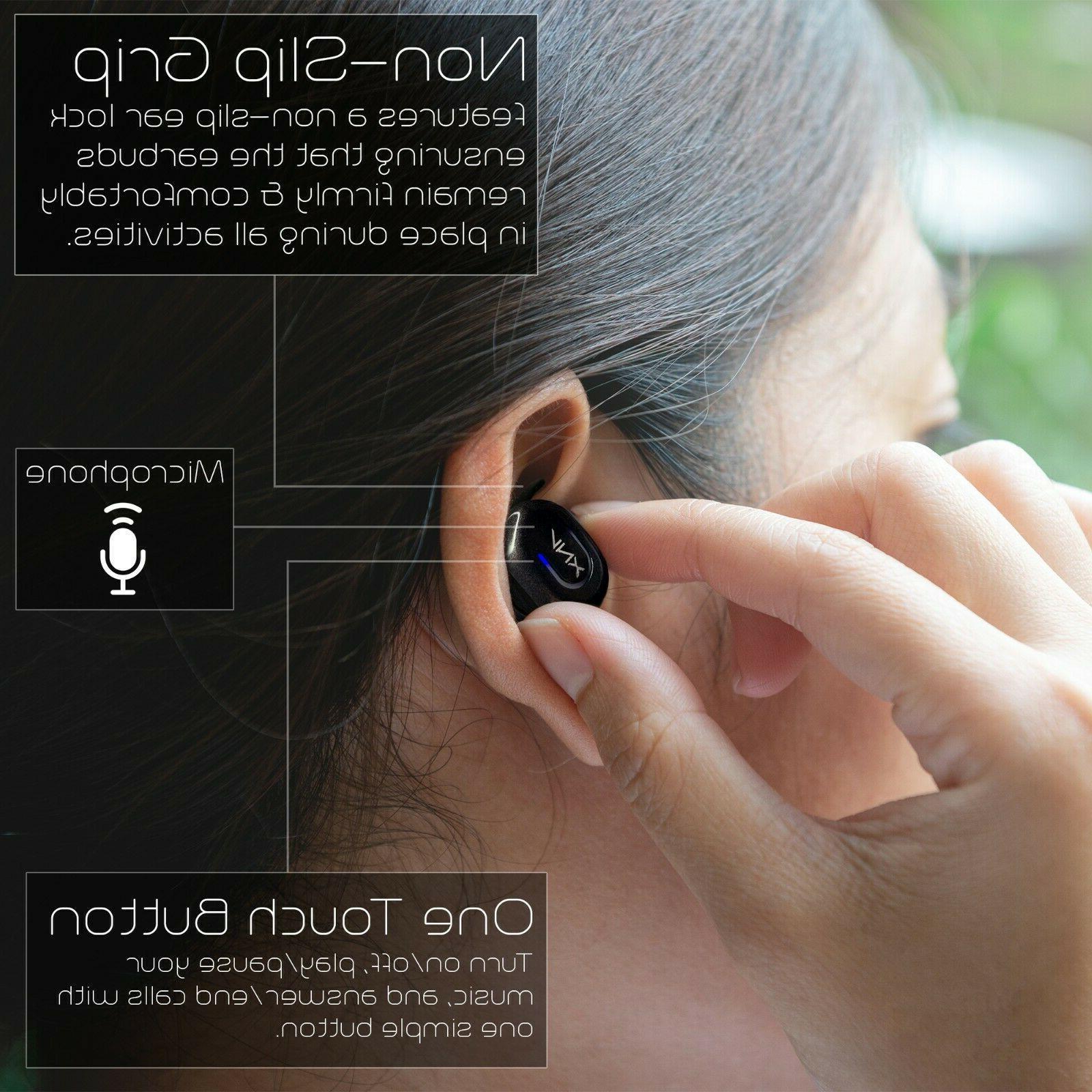 Aduro Earbuds Headset Charging