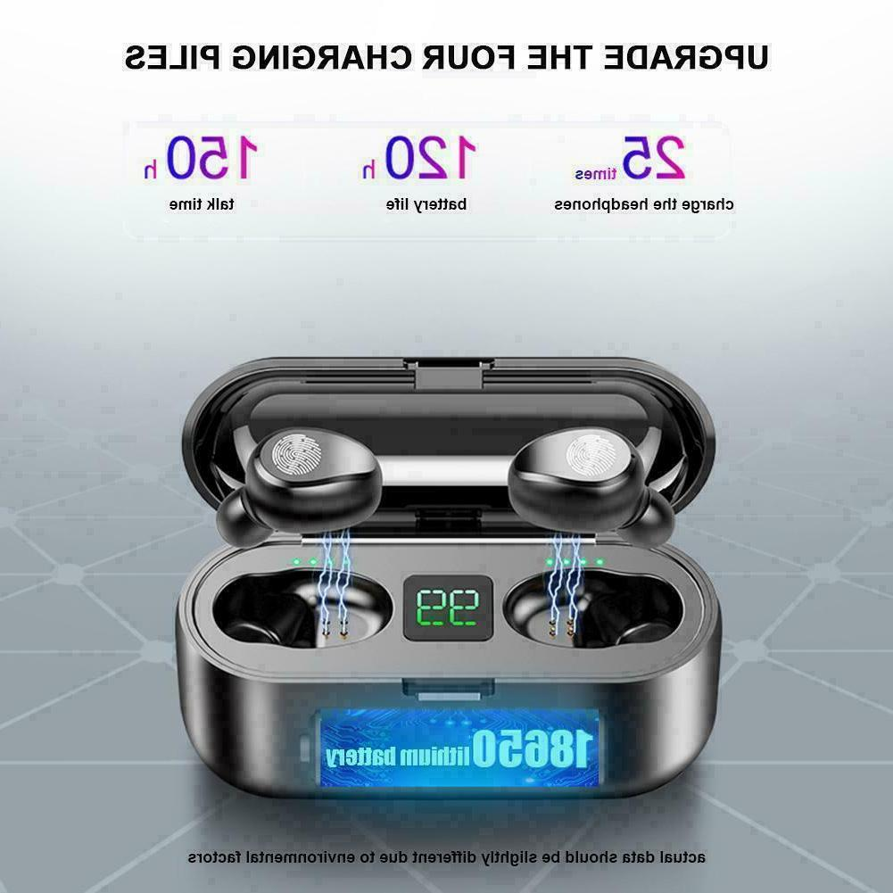 TWS Wireless Earphones Stereo Headphones Sports Headset