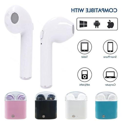TWS Wireless Earbuds In Ear iPhone W/Charger box