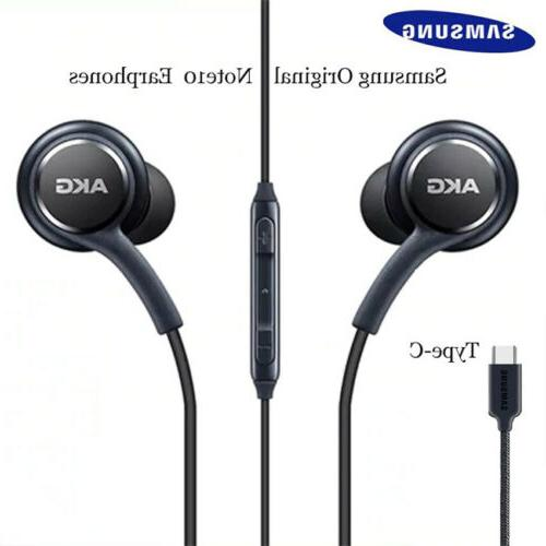 Type-c USB Earbuds Wired In-ear Samsung Galaxy