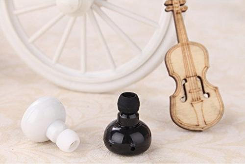 Enegg Car Mini Wireless 4.0 Hnads free Earbuds Earpiece for iPhone Motorola Phones,