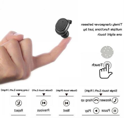 Sports Waterproof Ear Wireless Earbuds Touch