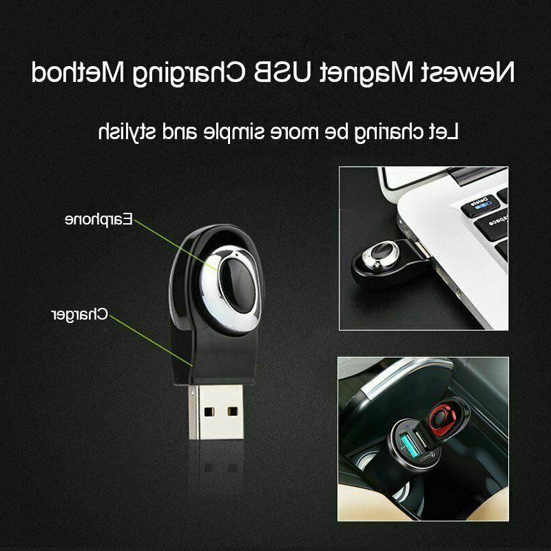 USB Mini Earbuds Stereo Earphones Sport Headset