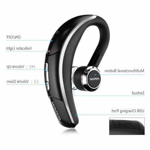 Mpow Wireless Earbud Headphone Mic