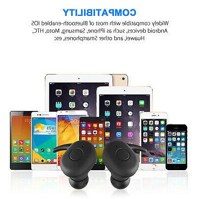 Waterproof Bluetooth Earphones Headset Cancelling