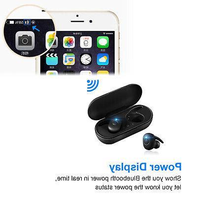 Waterproof Bluetooth 5.0 Earbuds Earphones Wireless Noise Cancelling