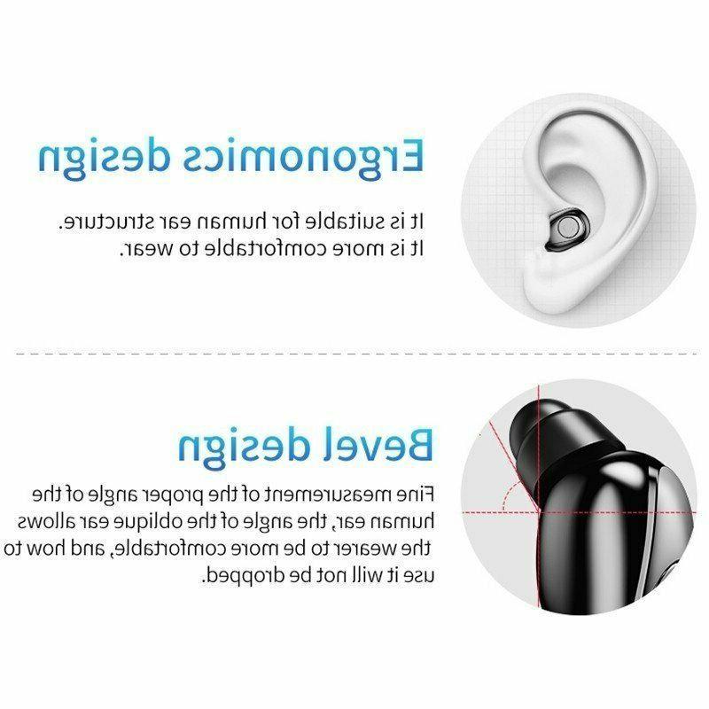 Waterproof 5.0 Earphones Wireless Headset Cancelling