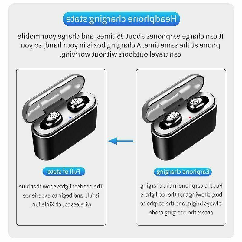 Waterproof Earphones Wireless Cancelling