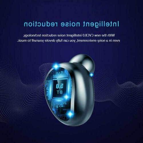 Wireless Bluetooth5.0 Touch Earbuds Stereo