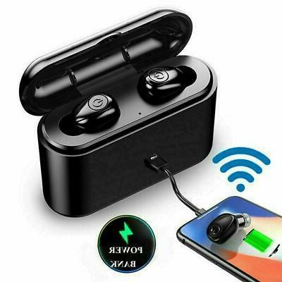 Waterproof Bluetooth 5.0 Earbuds Headphones  Wireless Headse