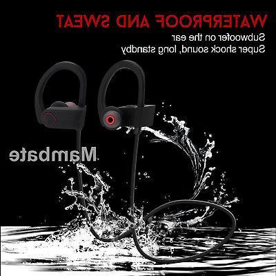 Waterproof Bluetooth Earbuds Beats Sports in Ear