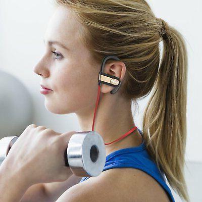 Waterproof Bluetooth Sports Wireless Headphones Ear