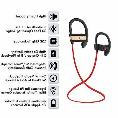 Waterproof Bluetooth Sports Wireless Ear NEW