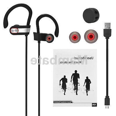 Waterproof Bluetooth Earbuds Sports Wireless Ear