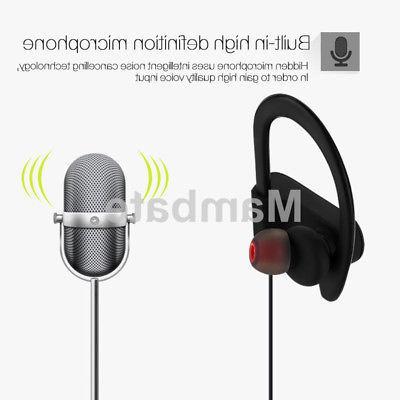 Waterproof Earbuds Sports Wireless Headphones Ear Headsets