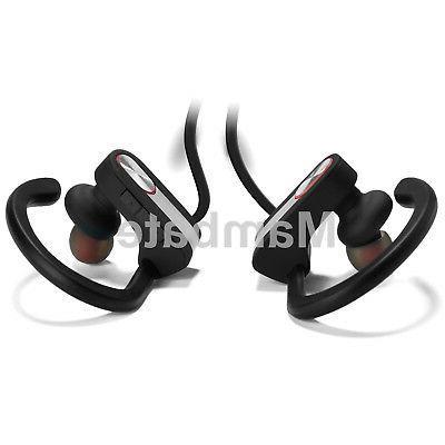 Waterproof Bluetooth Earbuds Sports Headphones Ear