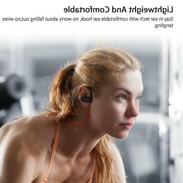 Sweatproof Bluetooth Sports Wireless Headset NEW