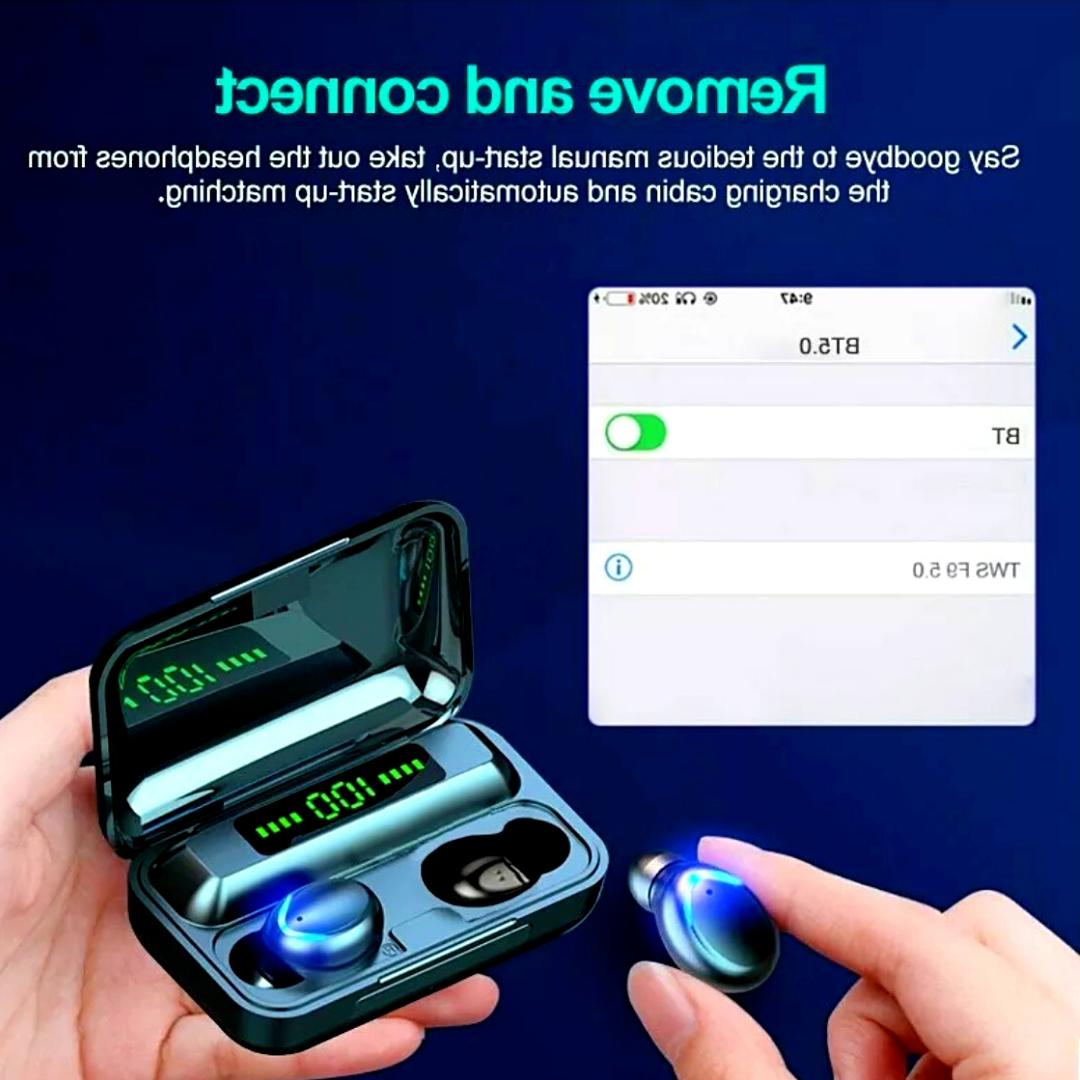 Waterproof IPX7 Wireless Bluetooth for Iphone Samsung Android
