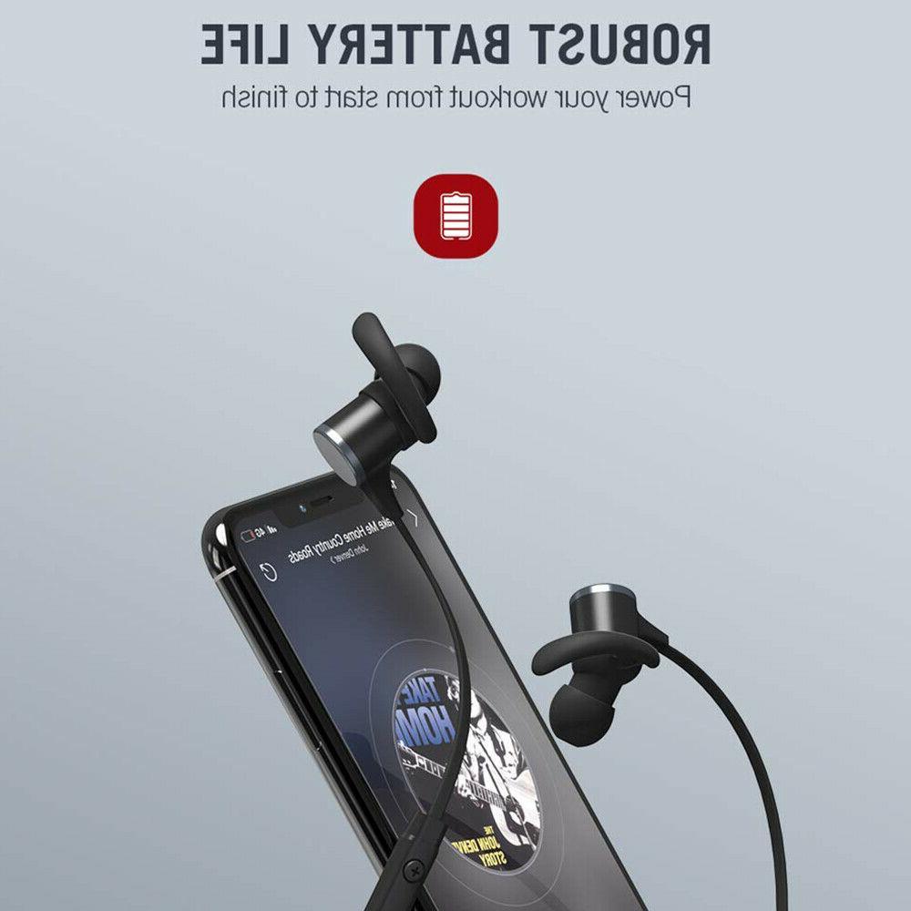 TaoTronics Waterproof Sport Bluetooth Headset Earbuds