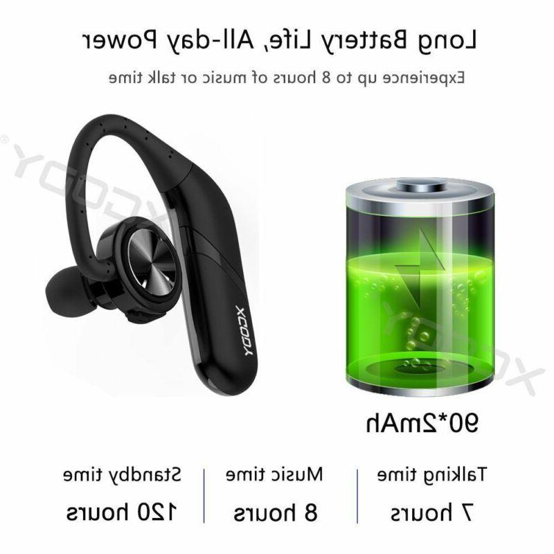 Waterproof Wireless Earbuds Bluetooth 5.0 Sports Bass Headset