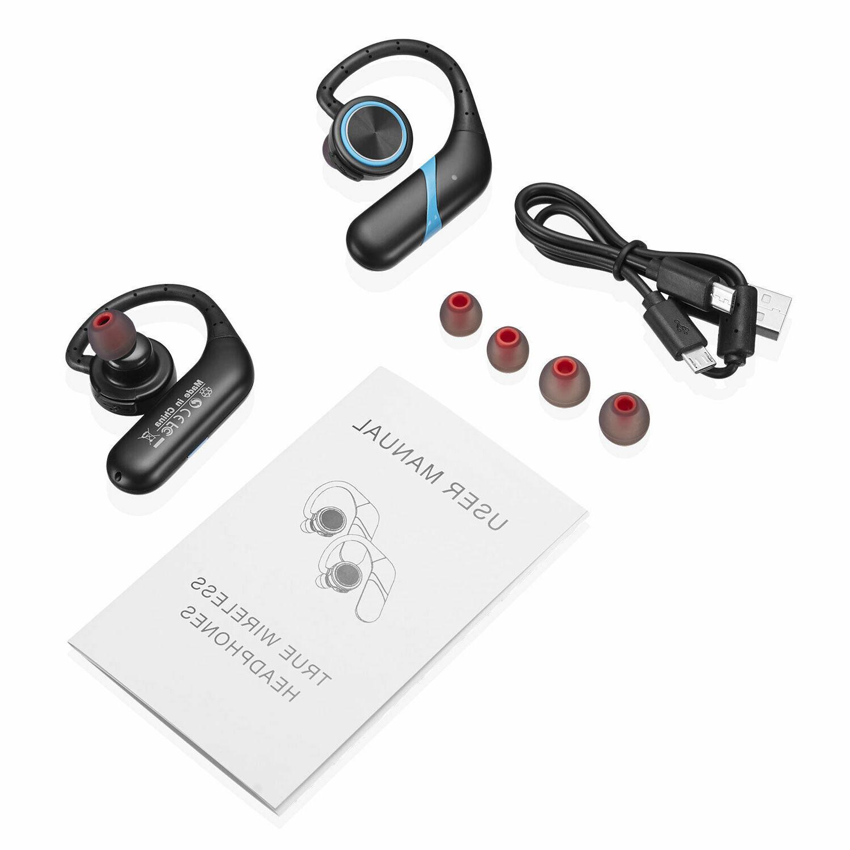 Waterproof Wireless Earbuds 5.0 Headphone Bass Headset