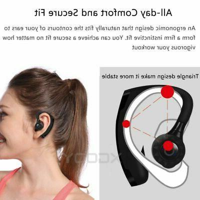 Waterproof Bluetooth V5.0 Headphone Sport Bass