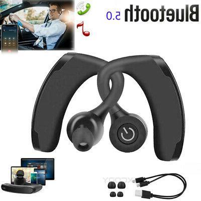 waterproof wireless earbuds bluetooth v5 0 headphone