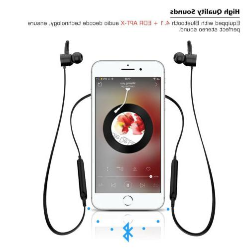 Wireless 4.1 Headphone Active Noise Cancelling Sports Earbuds