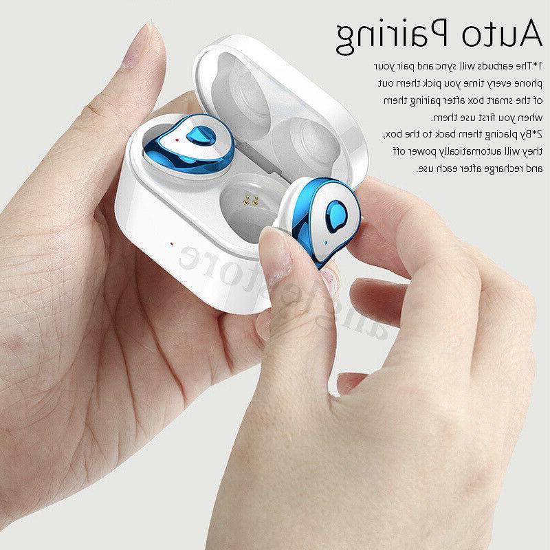 Wireless bluetooth 5.0 Earbuds Sports Noise Canceling IPX4 Waterproof