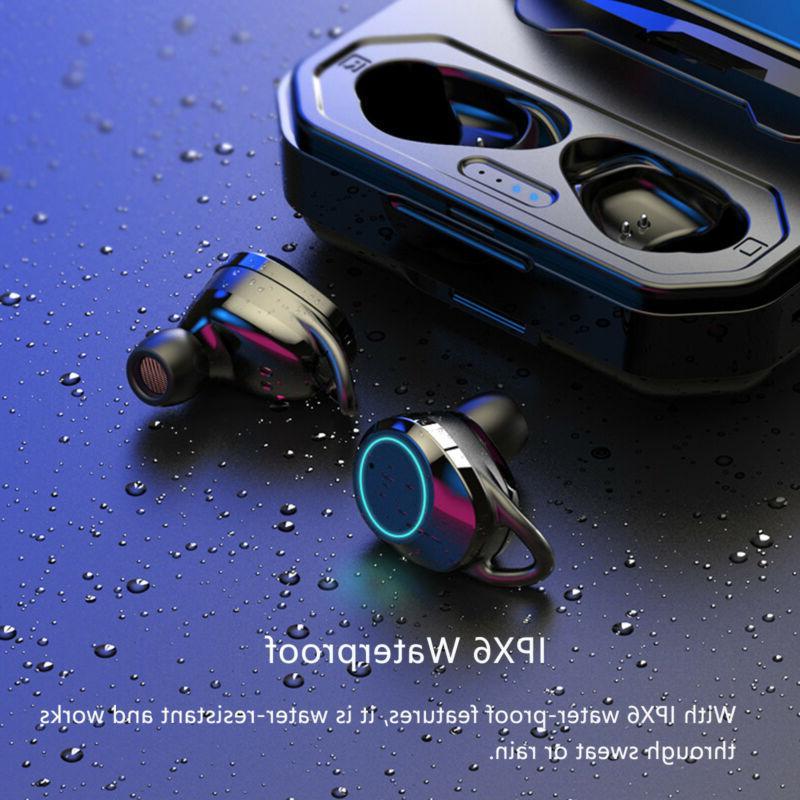 Wireless Bluetooth Earphone Touch IPX6 HIFI Earbuds
