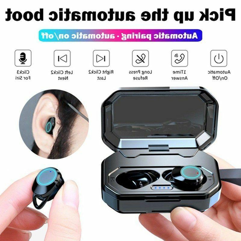 wireless bluetooth 5 0 earphone touch control