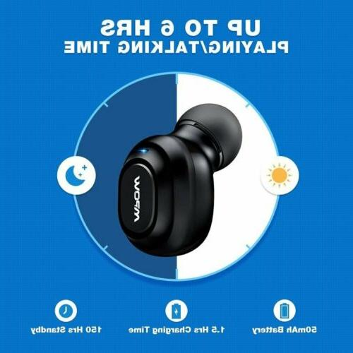 Mpow Bluetooth Headset Headphone Earbuds For iPhone