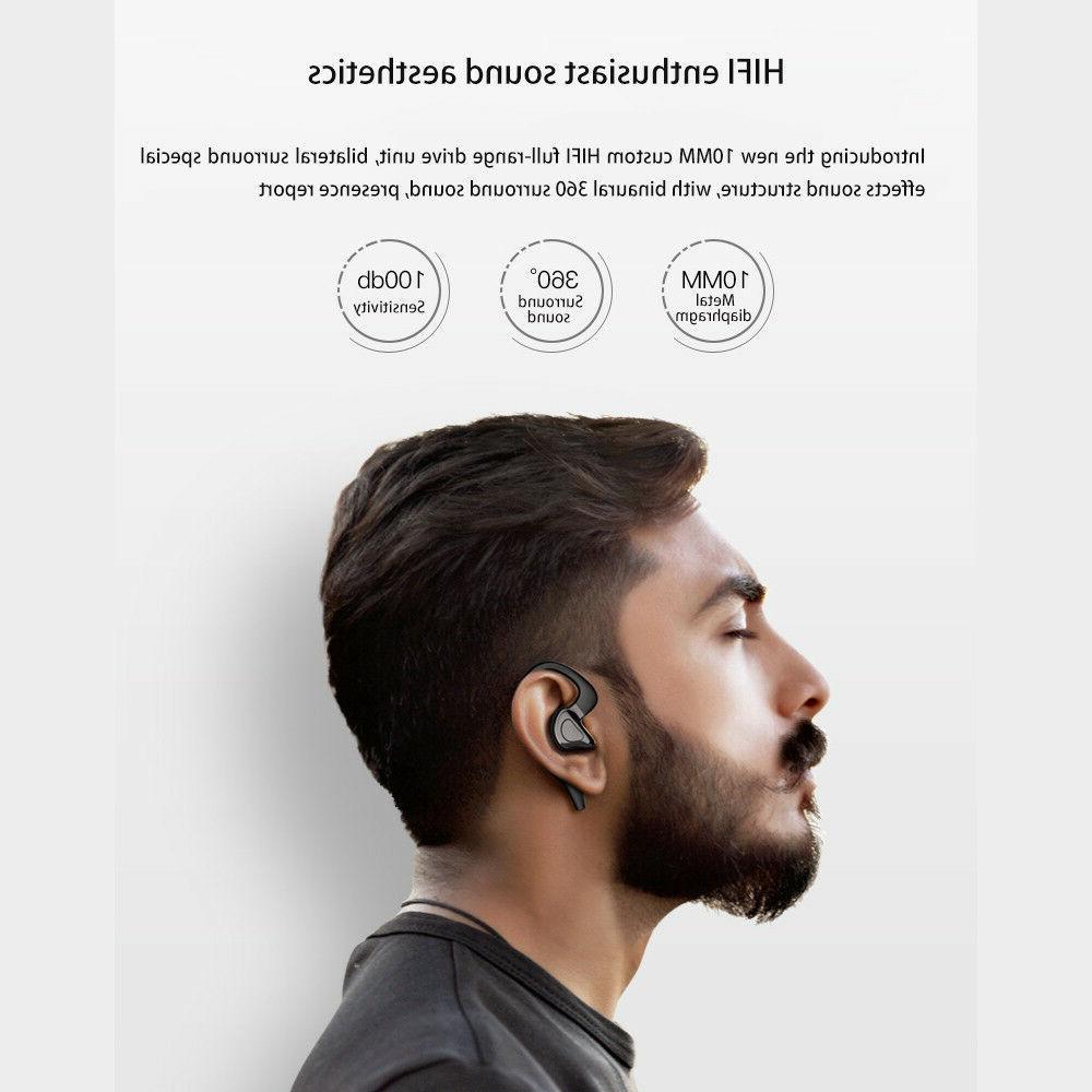 Wireless Bluetooth Earbuds Sport Bass Twins Stereo