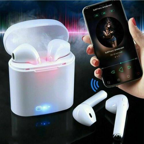 wireless bluetooth earbuds earphone headphones for apple