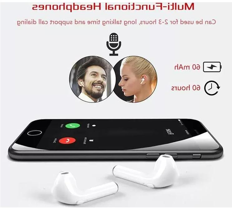 Wireless headset with charging for