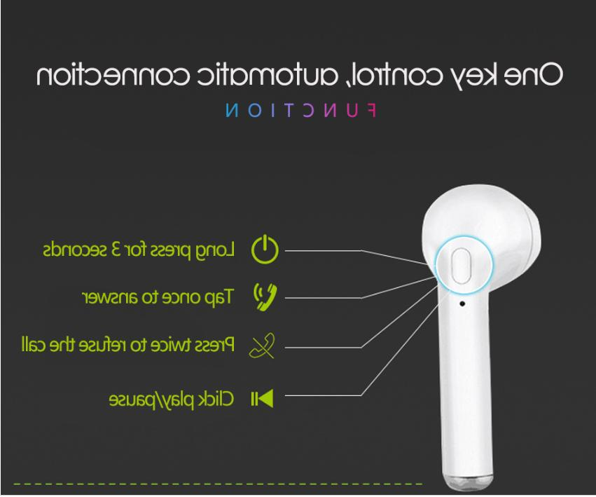 Wireless headset with charging for Samsung