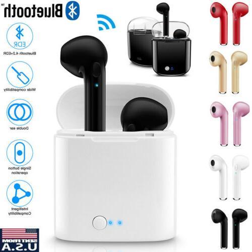 wireless bluetooth earbuds earphones headphones for apple