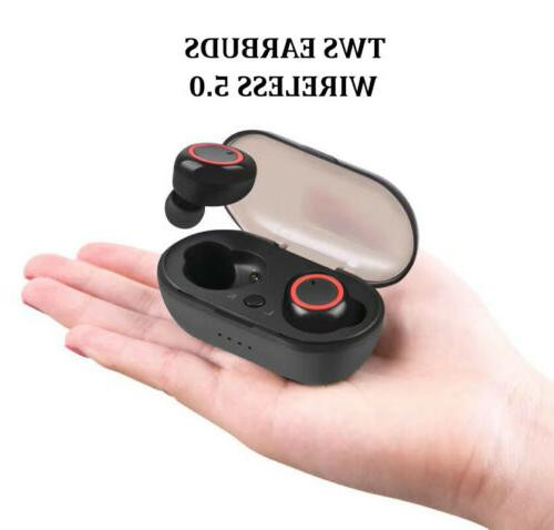 Mini Ture Wireless Stereo Earbuds Headsets for iPhone Androi
