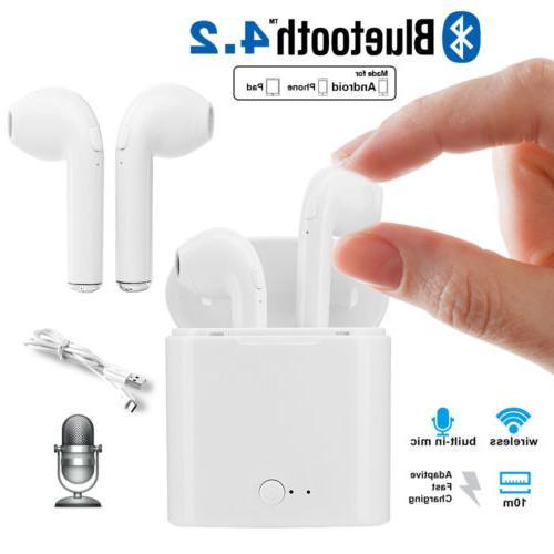 wireless bluetooth earbuds headset in ear headphone