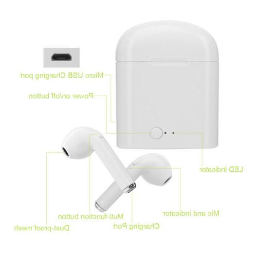Wireless Earbuds Headset In iPhone X LG