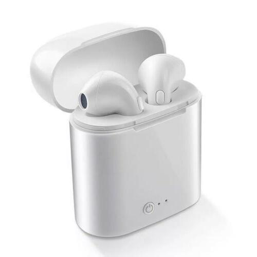 wireless bluetooth earbuds i7s tws white