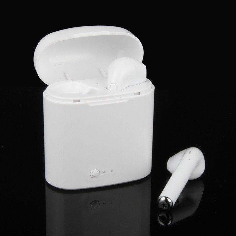Wireless Bluetooth Earbuds Ear Headphone Apple iPhone X