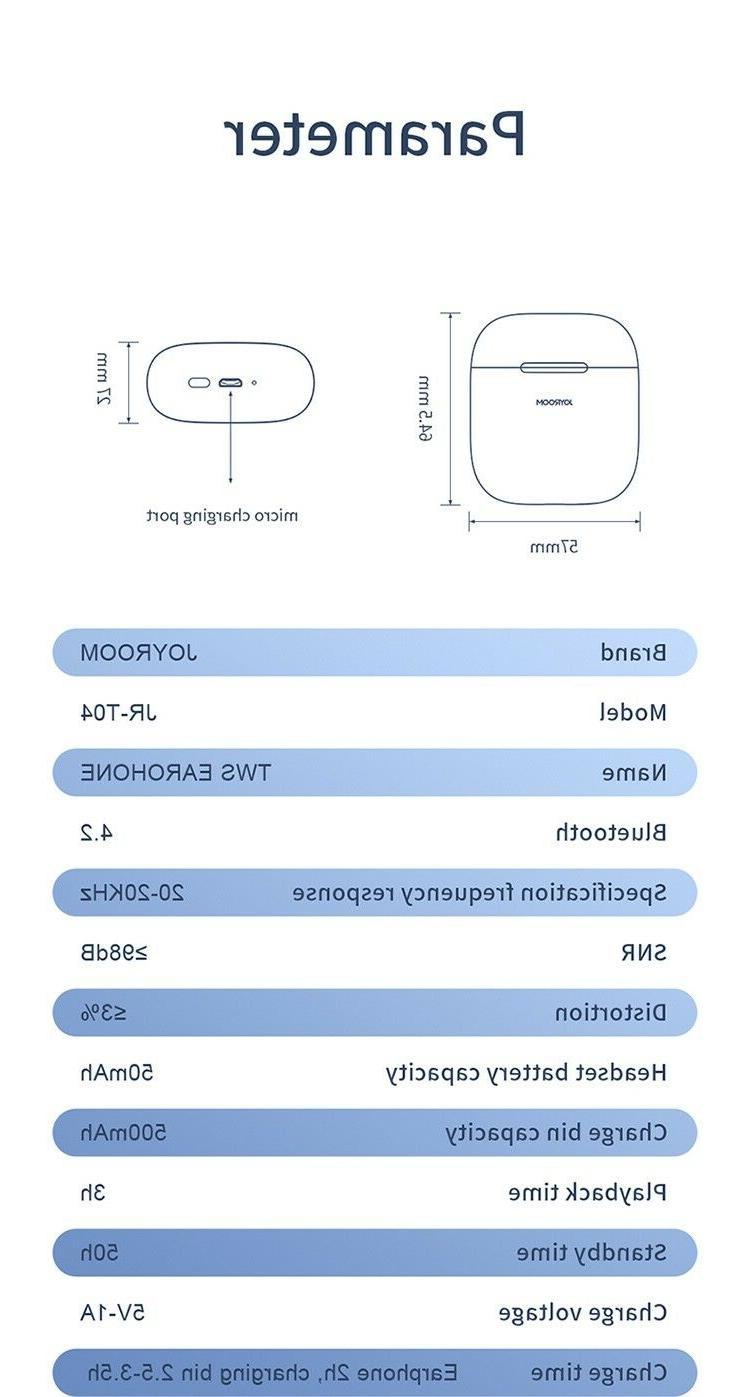 Wireless JOYROOM jr- Headset