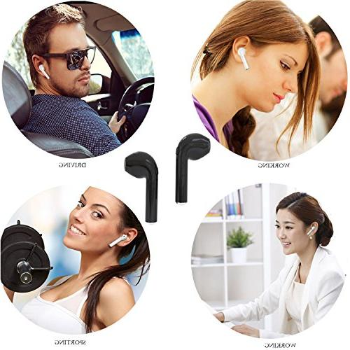 Wireless Bluetooth Earbuds Mini Phone Headsets Rechargeable for Smart