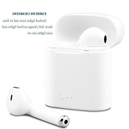 Wireless Bluetooth Earbuds GUIGU Mini Headphone Phone Headsets for Smart