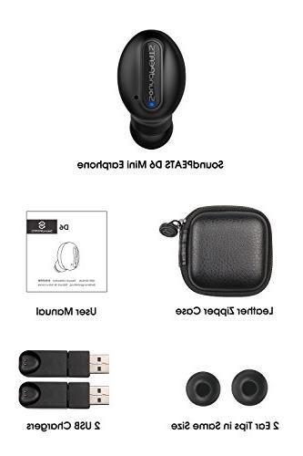 Wireless Sweatproof Headphone with Magnetic In Earphone with Mic
