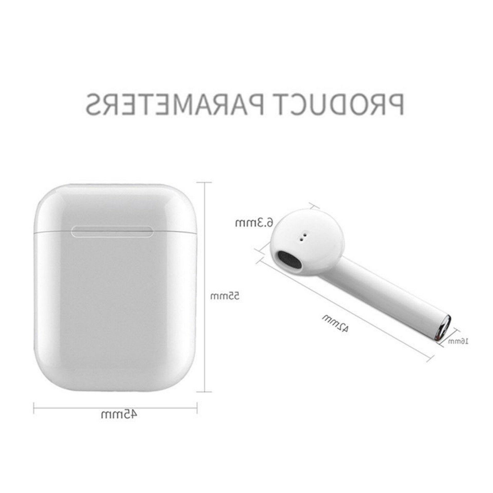 Wireless Headphone Earpods For Samsung iPhone 7 X