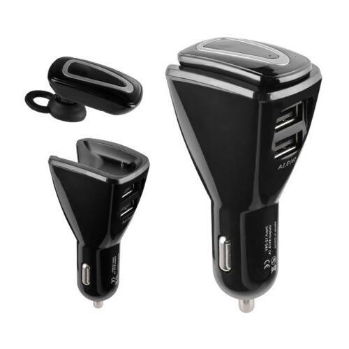 Wireless Earbuds Handsfree Dual Charger