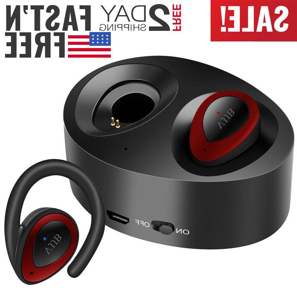 wireless bluetooth headphones dual earbuds true mini