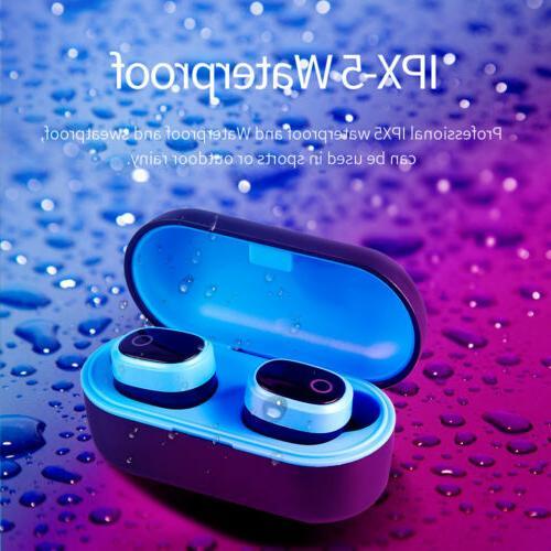 Bluetooth 5.0 True Earbuds Headphones